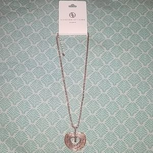 Gorgeous Heart necklace Adrienne Vittadini